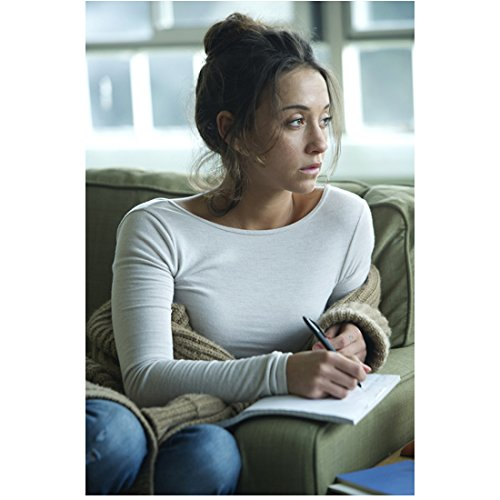 The Magicians Stella Maeve as Julie writing in notebook in living room 8 x 10 Inch Photo ()