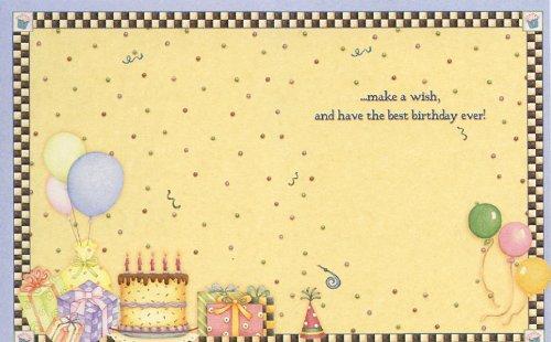 Birthday Wishes By Debbie Mumm Asn34638 Birthday Note Card