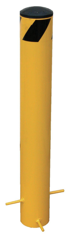 Vestil BOLPP-24-5.5 Pour in Place Bollard Yellow 25 x 5.5