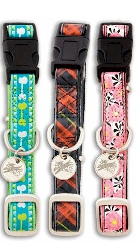 PetSafe Bark Avenue Quick Snap Dog Collar, Small 3/4-Inch, McDawg Plaid