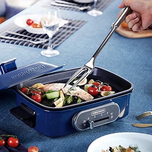 Forchettone 3.5cm Forchetta per Carne in Acciaio Inox Ottima Come Aiuto in Cucina e Posate per griglia di Facile Manutenzione Forchettone per arrosti e Carne 34.2
