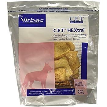 CET HEXtra Premium Chews Large 3 Pack (90 chews)