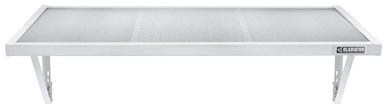 Gladiator GAWA45SFZW 45-Inch GearLoft Shelf, White