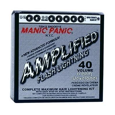 Manic Panic Flash Lightning Hair Bleach Kit 40 Volume by Manic Panic BEAUTY
