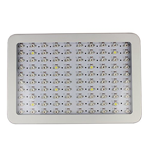 RYSA LIGHT LED Indoor Grow Light 1000W Full Spectrum Double Chips Growing Lamps with UV IR for Garden Plants Veg Flower Hydroponic Greenhouse by RYSA LIGHT (Image #6)
