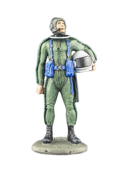 Amazon.com: Pilot in Anti-G Suit Hand Painted Tin Metal ...