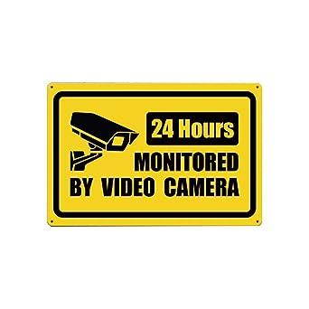 Easy Painter Señal de vigilancia de vídeo, señal de no ...