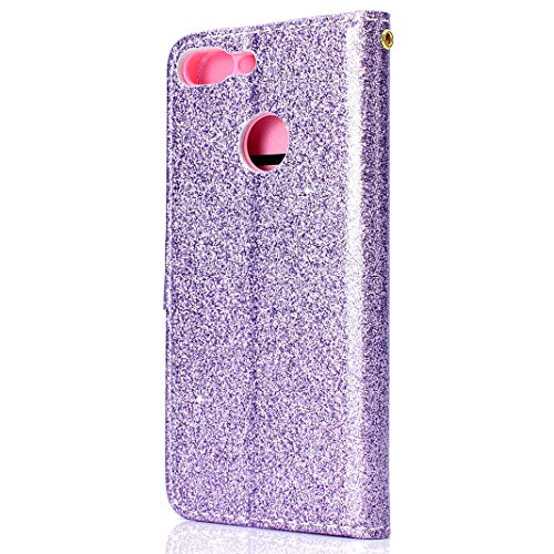 Huawei Lite Luxe en Coque Bling PU Housse Glitter Cuir 9 Honor gqIIwtd