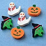 Mini Halloween Erasers