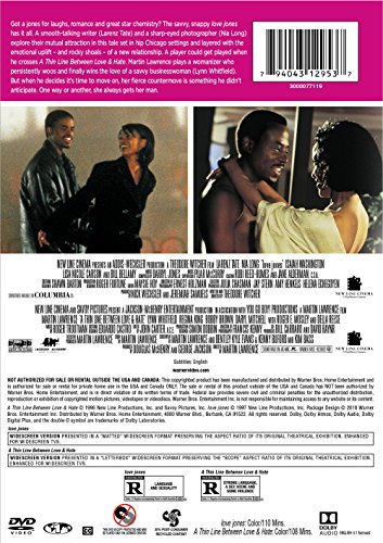 Love Jones/Thin Line Between Love and Hate (DBFE) (DVD)