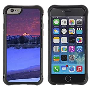 Suave TPU GEL Carcasa Funda Silicona Blando Estuche Caso de protección (para) Apple Iphone 6 PLUS 5.5 / CECELL Phone case / / Nature Beautiful Forrest Green 142 /