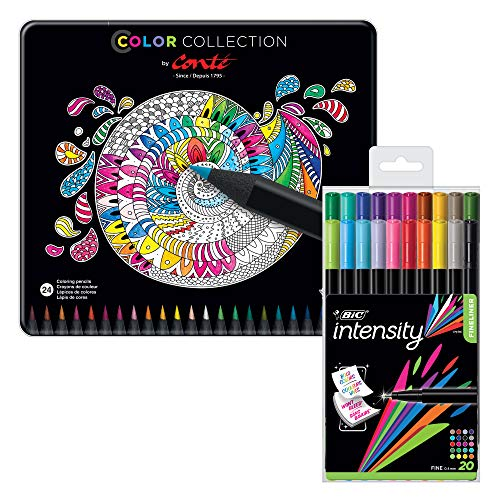 BIC Color Collection by Conte Felt Pen, CBBC44EC-AST