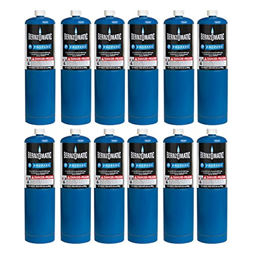 Standard Propane Fuel Cylinder - Pack of 12 by Gordon Glass Co.