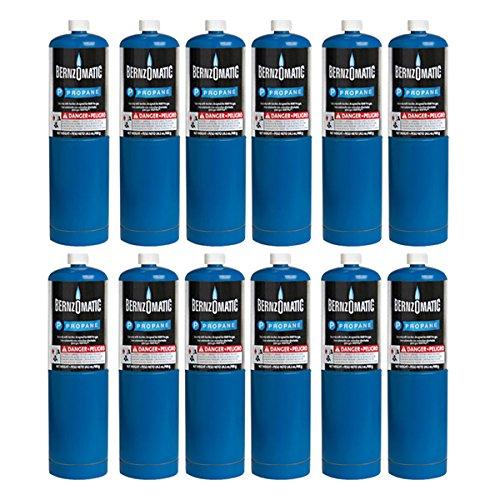 Standard Propane Fuel Cylinder - Pack of 12