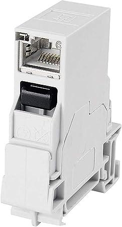 Telegärtner J80023a0003 Stx Tragschienen Verbinder Computer Zubehör