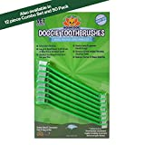 New Dual Ended Long Dog & Cat Toothbrush | Pet Safe Super Soft Bristles for Pet Dental & Oral Care Teeth & Gums (8 Count)