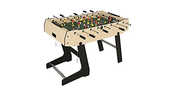 HLC plegable mesa de fútbol Fútbol table-wooden grano PVC Fútbol ...