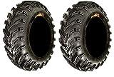 24x8x11 atv tires - Pair of GBC Dirt Devil (6ply) ATV Tires [24x8-11] (2)