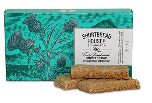Shortbread House of Edinburgh's Stem Ginger Shortbread Fingers ()