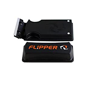 Flipper algae magnet cleaner, scraper side view