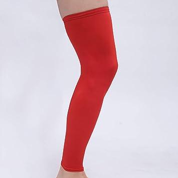 2382a492eff60c 1Pcs Leg Sleeve Women Men Youth Basketball - Sports Footless Calf  Compression Socks Knee Brace Helps