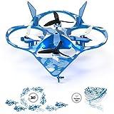 Wonder Chopper RC Drone Stunt Quadcopter w/ 360 Flip: Tornado, 2.4Ghz 6-Axis Gyro 4 Channels, 3 Blade Propellers