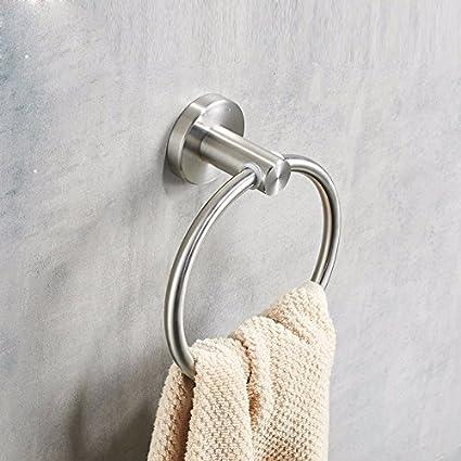 Olici MDRW-Accesorios De Baño Anillo De Toalla Acero Inoxidable Toalla De Baño Toalla Perforado
