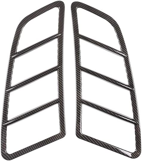 Oritech for Mercedes Benz SLK 2011 2012 2013 2014 2015 Hood Vent Moulding Frame Trim Engine Roof Grills Fin Bar Covers Carbon Fiber Style