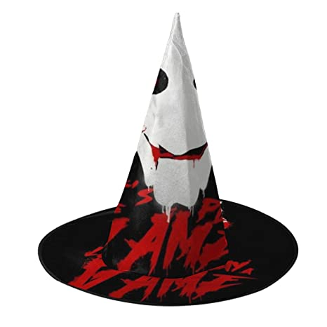 NUJSHF Saw Lets Play A Game Sombrero de Bruja Halloween Unisex ...