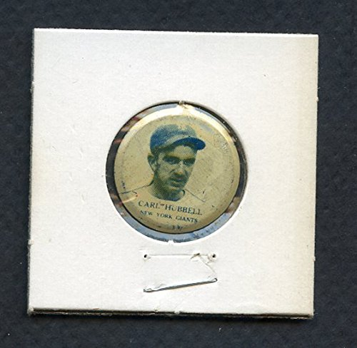 1938 PM8 Our National Game Pins Carl Hubbell Giants EX 287878 Kit Young (Hubbell Pins)
