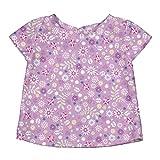 i play. Baby Girls' Cap Sleeve Rashguard Shirt, Lavender, 12 Months