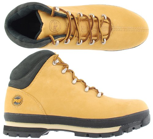Timberland Men's Splitrock Pro Industrial Safety Boots Wheat M1044N 7 UK Wheat
