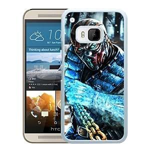 sub zero mortal kombat x art mortal kombat White New Recommended Design HTC ONE M9 Phone Case