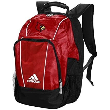 e4ccfefcbc Amazon.com   adidas Louisville Cardinals Red Campus Laptop Backpack    Athletic Sweaters   Sports   Outdoors