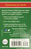 Merriam-Webster's Pocket Spanish-English