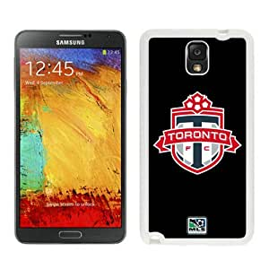 Fashionable And Antiskid Designed MLS Toronto FC Samsung Galaxy Note 3 N900A N900V N900P N900T Case Cover 04 White