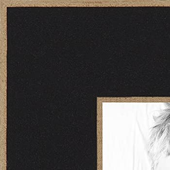 arttoframes 14x22 inch black satin with raw edges picture frame 2wom0066 76808 890r 14x22