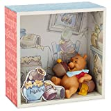 Winnie the Pooh and Honey Shadow Box With Figurine Decorative Accessories