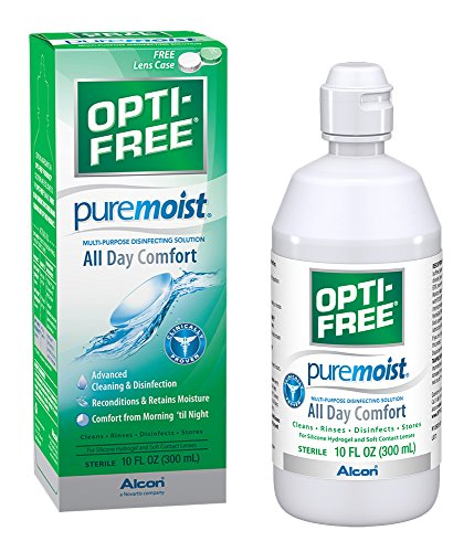 OPTI FREE Puremoist Multi Purpose Disinfecting 10 Ounces product image