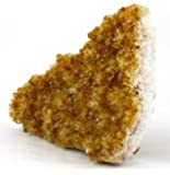 Crystal Allies Specimens: Natural Citrine Druze Cluster from Brazil - 2lbs to 3lbs