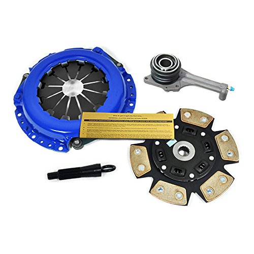 EFT STAGE 3 HD CLUTCH KIT & SLAVE CYL 02-03 MITSUBISHI LANCER ES LS OZ RALLY 2.0L