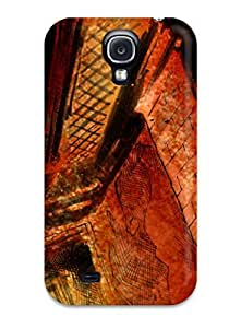 New Design Shatterproof QKrIW1908QrhoF Case For Galaxy S4 (silent) by icecream design