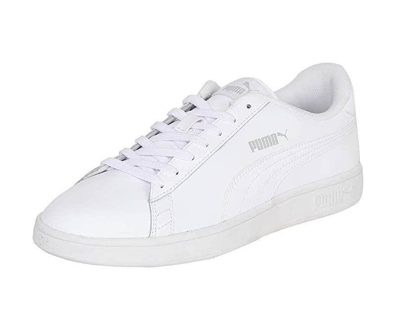 Puma Smash V2 L Sneakers Erwachsene Damen Herren Unisex komplett Weiß