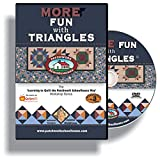 Quilting: Patchwork Schoolhouse teaches More Fun with Triangles on DVD, Lesson 3 of 7