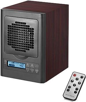 hukoer purificador de aire & Generador de Ozono, Living Home Office Ionizador & Deodorant Incluye Hepa, eliminación ...