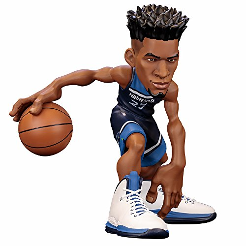 ICONai Small-Stars Jimmy Butler 11-inch Smart Collectible NBA Figure [ONLY 200 Figures Produced Minnesota Timberwolves Icon Edition Jersey] Amazon Exclusive Artist-Autographed CERT Pack
