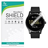 [6-PACK] RinoGear for Fossil Q Marshal Screen Protector [Active Protection] Full Coverage Flexible HD Crystal Clear Anti-Bubble Film