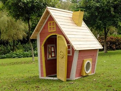 Kinderspielhaus Hexenhaus Anika Amazonde Garten