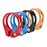 Caden Cycles Bicycle Seatpost Alloy Bolt On Seat Clamp 34.9 (4 colors)