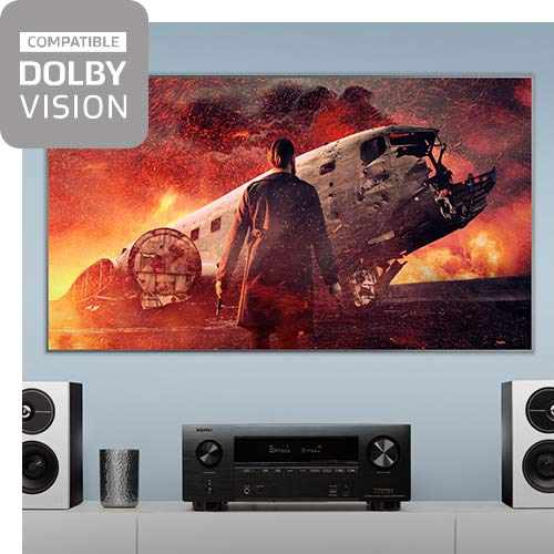 Denon AVR-X3500H Receiver (2018 Model) - 8 HDMI Input/3 Output & Enhanced Audio Return Channel (eARC), HDR10, 3D Video Support | Super High Power, 7.2 Channel 4K Ultra HD Video | Dolby Surround Sound by Denon (Image #2)